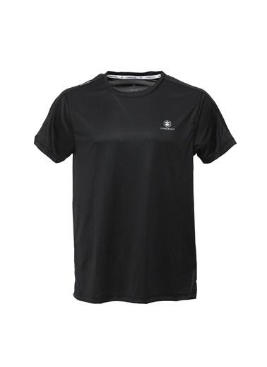 Lumberjack Ct177 Leon Basic T-Shirt Erkek Kısa Kol T-Shirt Siyah